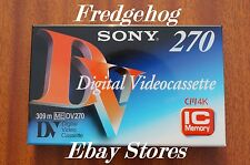 A QUALITY CASSETTE/ TAPE - SONY- DV-270ME FOR FULL SIZE DVCAM (Not Mini DV)