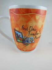 "Awesome Teacher's assistant Mug  Cup ""First Class T.A. "" History & Heraldry"