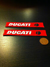 2 DUCATI motorcycle  patches  badge logo patch