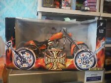 Jesse James West Coast Choppers Orange Diablo Soft Tail New in Open/Damaged Box
