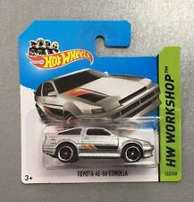 Hotwheels Diecast Car Hot TOYOTA AE-86 COROLLA  No.222/250 HW Workshop