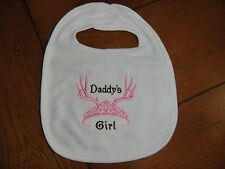 Embroidered Baby Bib - Daddy's Girl
