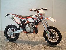 NEW 1:12 2014 KTM 300EXC 300 EXC EX-C MOTOCROSS ENDURO MODEL 2 STROKE ITALY ISDE