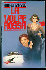 HYDE ANTHONY LA VOLPE ROSSA CDE 1986 GIALLI THRILLER