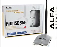 ALFA AWUS036H Network Ralink 3070 2000MW ALFA Wireless WiFi USB Adapter +anenna