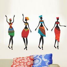 Wall Stickers Colorful African Women 5740