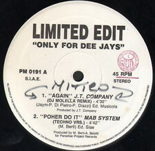 VARIOUS (J.T. COMPANY / MAB SYSTEM / SOUND SET) - Again / Poher Do It