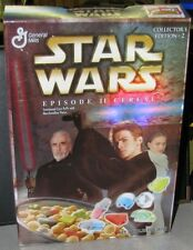 Star Wars Episode II 2 Cereal Box Collectors Edition #2 VG