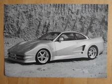 LISTER STORM V12 7.0 LITRE orig 1992-93 UK Mkt Sales Leaflet Brochure
