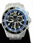 $1495 Invicta 20478 Pro Diver Black Dial Stainless Steel Chronograph Watch 7.75