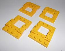 Lego (4211) 4 Fahrgestelle 4x5, in gelb aus 6334 6395 2126 6464 6693 7246