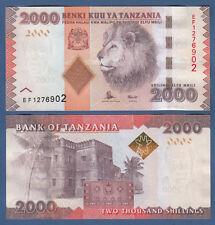 TANSANIA  / TANZANIA  2000 Shillingi (2016) UNC P. 42 b