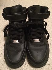 Black Nike Air Force 1 Mid Size 5