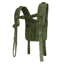 Condor #215 Military Tactical H-Harness Shoulder Battle Belt Suspender OD Green