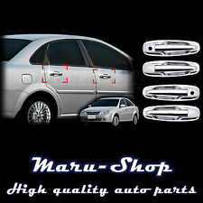 Chrome Door Handle Catch Cover Trim for 04~08 Chevrolet Lacetti/Nubira 4DR/5DR