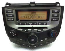 03 04 05 06 07 HONDA Accord AM FM Radio Stereo CD Player Factory OEM 2AA2 Temp