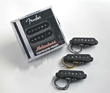 Genuine Fender Noiseless Stratocaster Pickups, Black, 099-2115-006 NEW