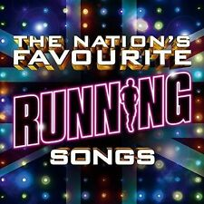 VARIOUS - THE NATION'S FAVOURITE RUNNING SONGS 3CD ALBUM SET (2016)