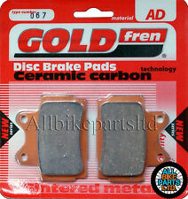 Yamaha FZR 250 Rear Sintered Brake Pads 1989-1999 - Goldfren - FZR250 FZR-250