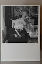 "DAMIEN HIRST: ""Hirst at work"" limited Art-Postcard (exhibition)  NEW"
