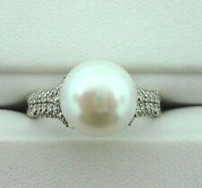 New David Yurman Pearl/Diamond Ring Retails @ $1,400