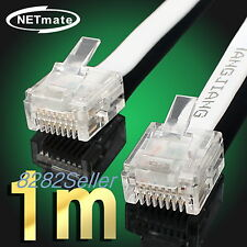 1M 3FT CAT6 Super Ultra Slim Flat Ethernet Patch Network Lan Cable RJ45 1GB  NEW