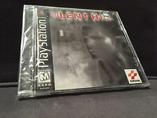RARE ORIGINAL BLACK LABEL PS1 PSX PLAYSTATION SILENT HILL NEW & SEALED  Y-FOLD