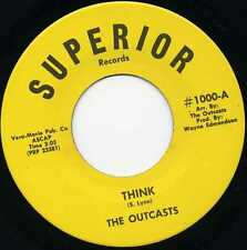 "OUTCASTS ""THINK"" ORIG US FUZZ GARAGE 1969 M-"