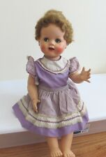 """1950's Saucy Walker Ideal Doll. 22"""" Tall. Jointed Legs. Original Clothes."""