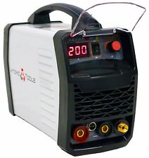 TIG WELDER DC INVERTER 200A with MMA/ARC + Bonus Tungsten and Consumable pack