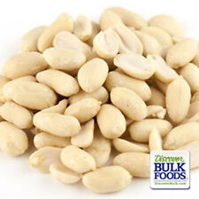 BULK 5 lb XL Raw Peanuts Blanched Unsalted Unroasted Large Virginia Wricley Nut