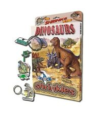 28 DINOSAUR EMBELLISHMENTS SHRINKLES SHRINKIE SHRINK ART BUMPER SET & PENCILS