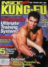 1/08 INSIDE KUNG FU  REMY PRESAS FRANK SHAMROCK BLACK BELT KARATE MARTIAL ARTS