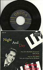 "Carmen Cavallaro - Night and Day +3  JAPAN 7"" EP  Decca DEP-52"