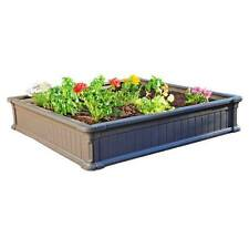 Lifetime Raised Gardening Bed Kit 4x4 Feet Pack of 3