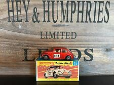 matchbox superfast no.15A-6.Version mint OVP B-Box excellent 1969/70