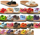 WOMENS BIRKENSTOCK RELAX 100 FLAT MOULDED FOOTBED SANDALS SHOES SIZES 3-9 NEW UK