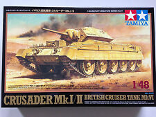 TAMIYA 32541 1/48 Crusader Mk.I/II British Cruiser Tank Mk.VI Model Kit NIB