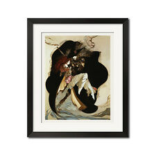 Vampire Hunter D x Yoshitaka Amano The Hunter Poster Print
