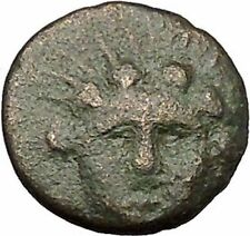 ISTROS Thrace 300-100BC Helios Eagle Dolphin Authentic Ancient Greek Coin i51070