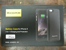 Ultra Slim Battery Case 3200mAh Extra Battery Black 4.7 Inches for Iphone 6