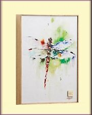DRAGONFLY FLY AWAY PRINT ON CANVAS WALL ART BY DEAN CROUSER FREE U.S. SHIPPING