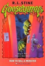 Goosebumps #46: How to Kill a Monster
