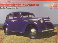 Russischer PKW Moskvitch 401 Saloon  - ICM Bausatz 1:35 - 35497 #E
