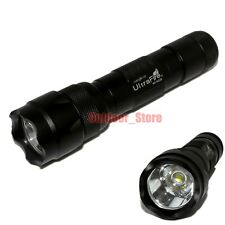 1pcs UltraFire WF-502B CREE XM-L L2 LED 1000 Lumens 1Mode 18650 Flashlight Torch