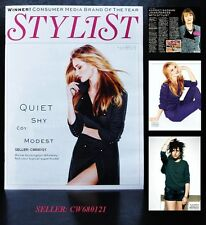 ROSIE HUNTINGTON-WHITELEY ANNIE MAC HARRIET HARMAN STYLIST MAGAZINE OCT 2012