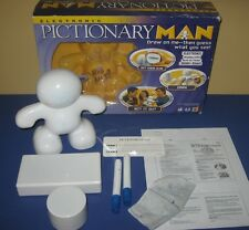 2008 Mattel Electronic Pictionary Man - Draw on Me Fun Charades Party Game