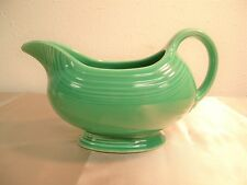 Vintage Homer Laughlin Fiesta Gravy Boat Light Green