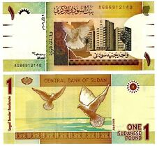 2006 Africa Paper Money One Pound Uncirculated Note