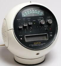"""Weltron 2001 """"Space Ball"""" 8 Track Player & Radio Lot 38"""